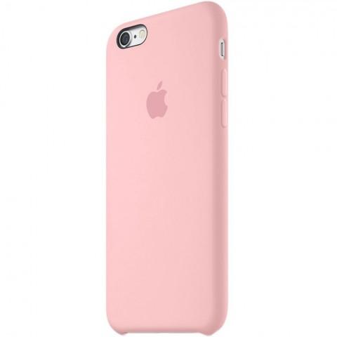 Apple silikónový obal pre iPhone 6 / 6S – Ružový 2