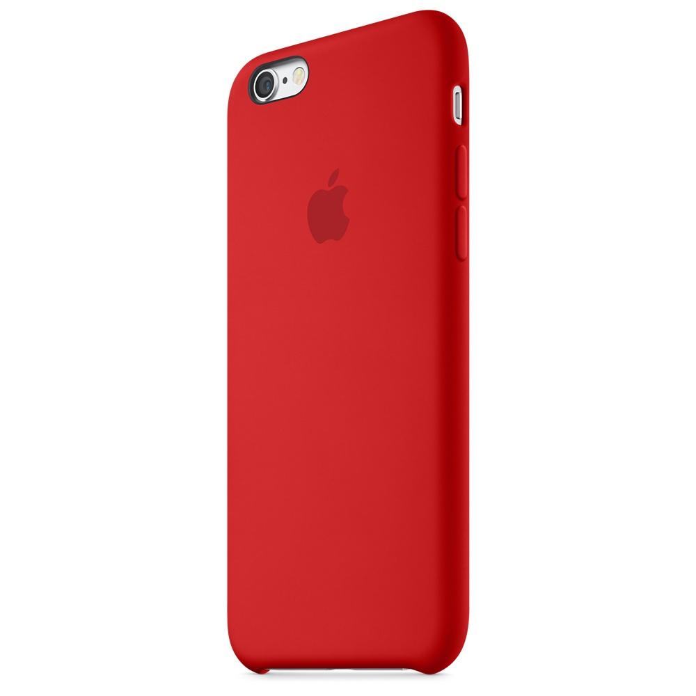 Apple silikónový obal pre iPhone 6 Plus / 6S Plus - červený 3