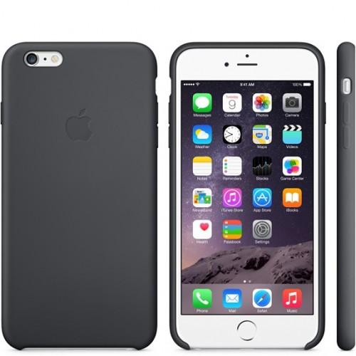 Apple silikónový obal pre iPhone 6 Plus / 6S Plus - čierny 3