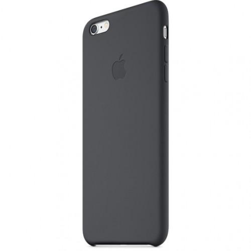 Apple silikónový obal pre iPhone 6 Plus / 6S Plus - čierny 2