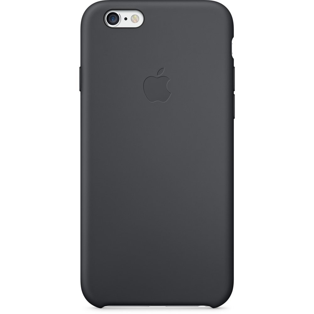 Apple silikónový obal pre iPhone 6 Plus / 6S Plus - čierny 1