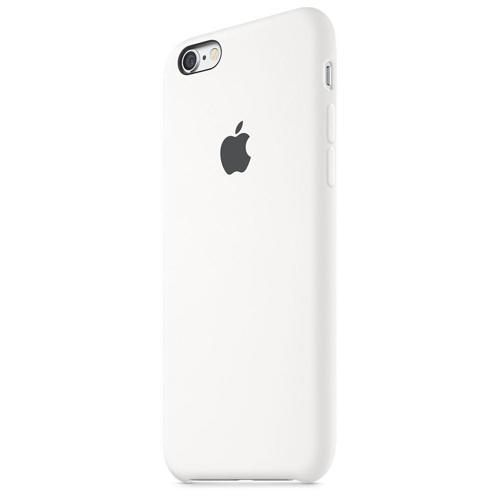 Apple silikónový obal pre iPhone 6 Plus / 6S Plus – biely 2