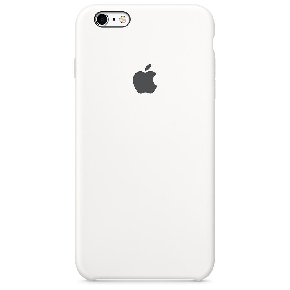 Apple silikónový obal pre iPhone 6 / 6S – biely 1