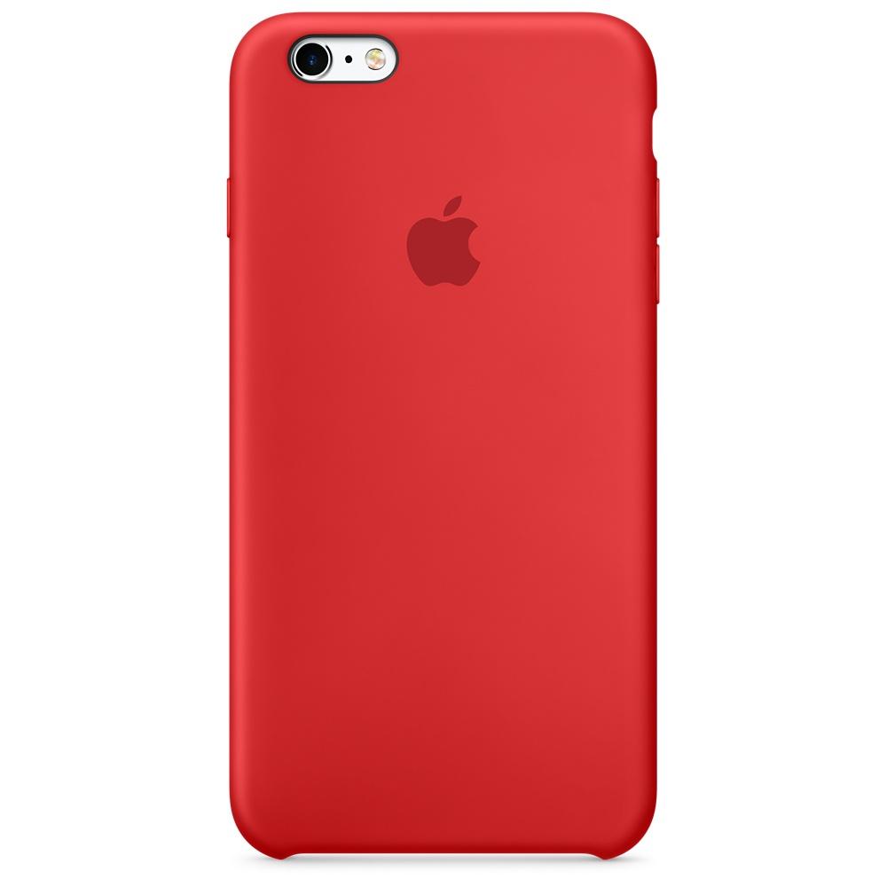 Apple silikónový obal pre iPhone 6 / 6S - červený 1