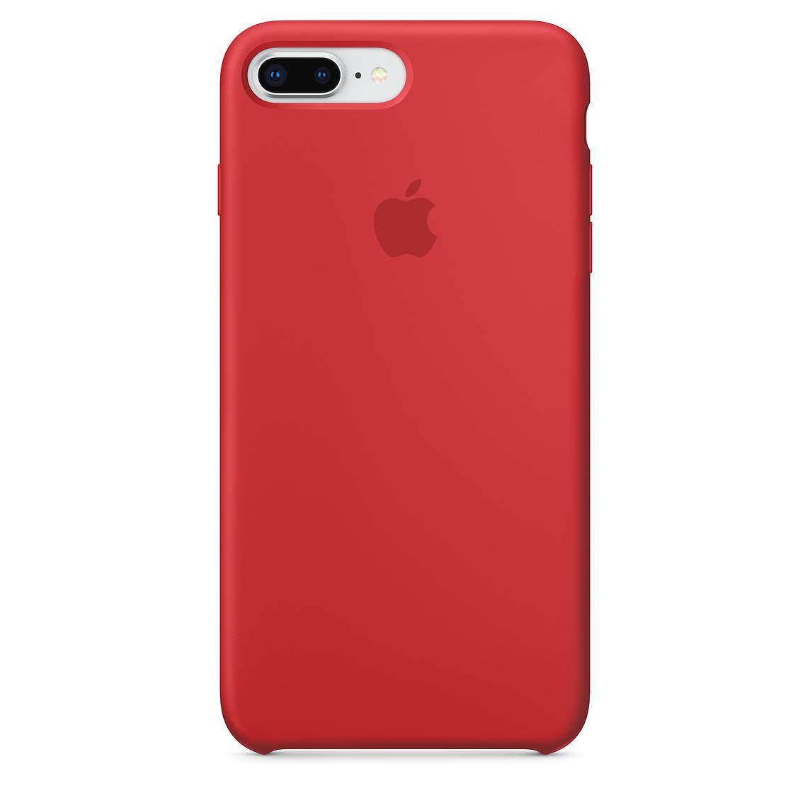 Apple silikónový obal pre iPhone 7 Plus / 8 Plus - červený 1
