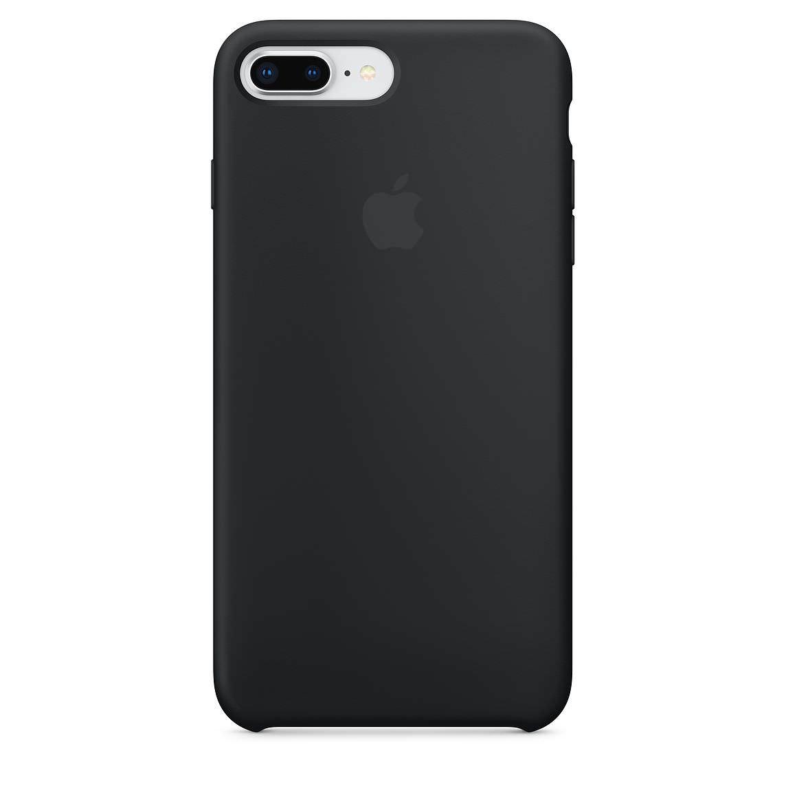 Apple silikónový obal pre iPhone 7 Plus / 8 Plus - čierny 1