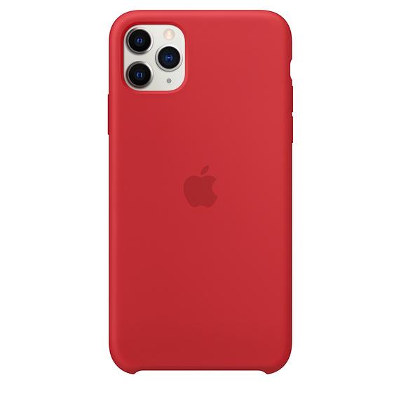 Apple silikónový obal pre iPhone 11 Pro Max - červený 1