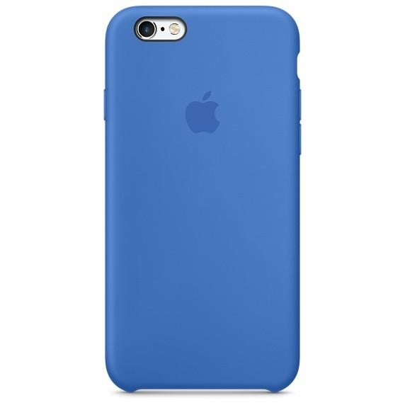 Apple silikónový obal pre iPhone 6 Plus / 6S Plus – kráľovsky modrý 1