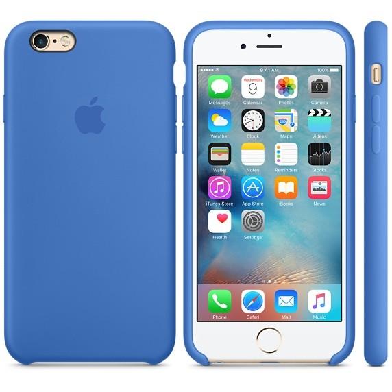Apple silikónový obal pre iPhone 6 Plus / 6S Plus – kráľovsky modrý 4