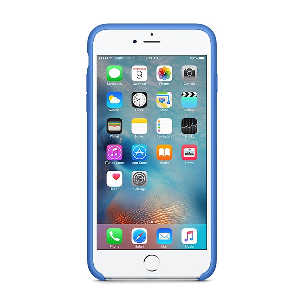 Apple silikónový obal pre iPhone 6 Plus / 6S Plus – kráľovsky modrý 2