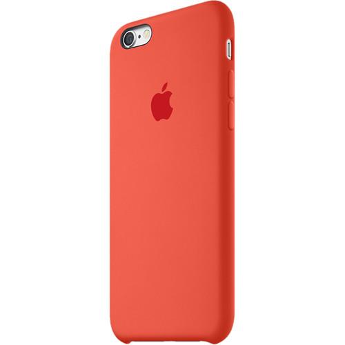 Apple silikónový obal pre iPhone 6 Plus / 6S Plus – oranžový 2