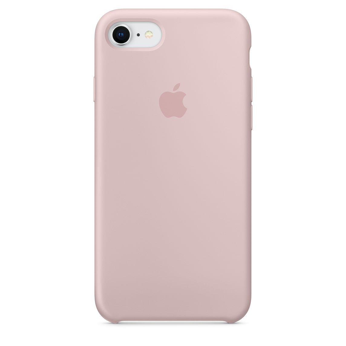 Apple silikónový obal pre iPhone 7 / 8 – Ružový 1