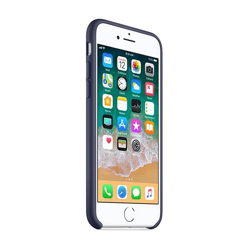 Apple silikónový obal pre iPhone 7 / 8 – modrý 2