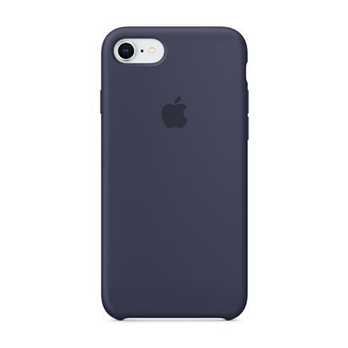 Apple silikónový obal pre iPhone 7 / 8 – modrý 1