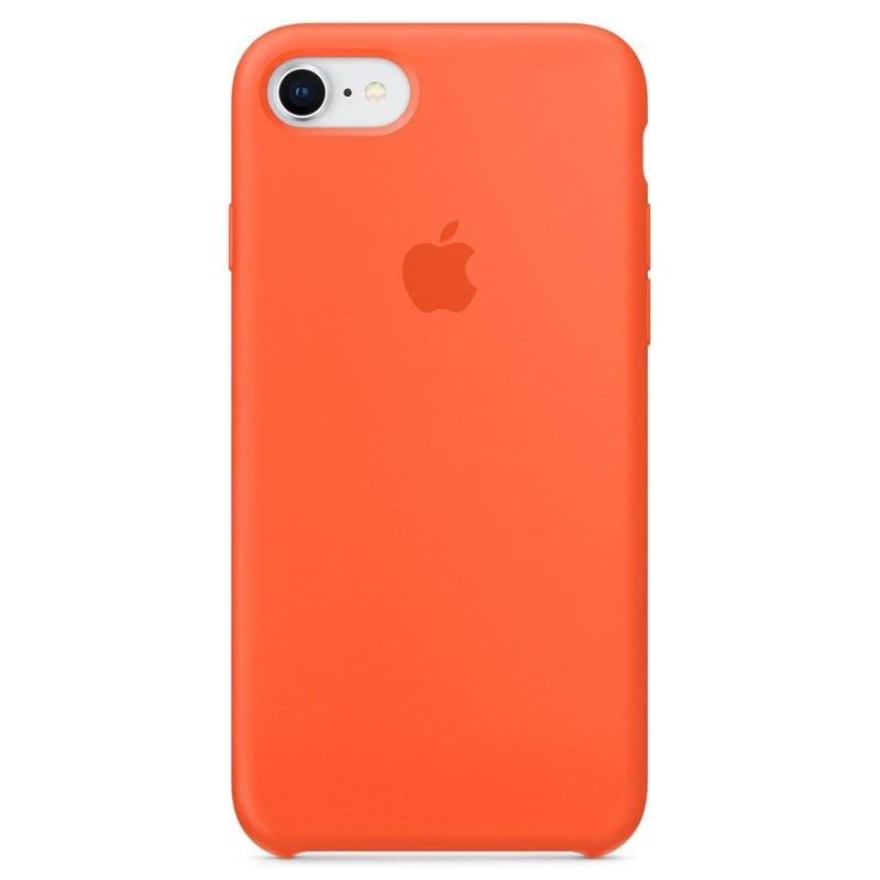 Apple silikónový obal pre iPhone 7 / 8 – oranžový 1