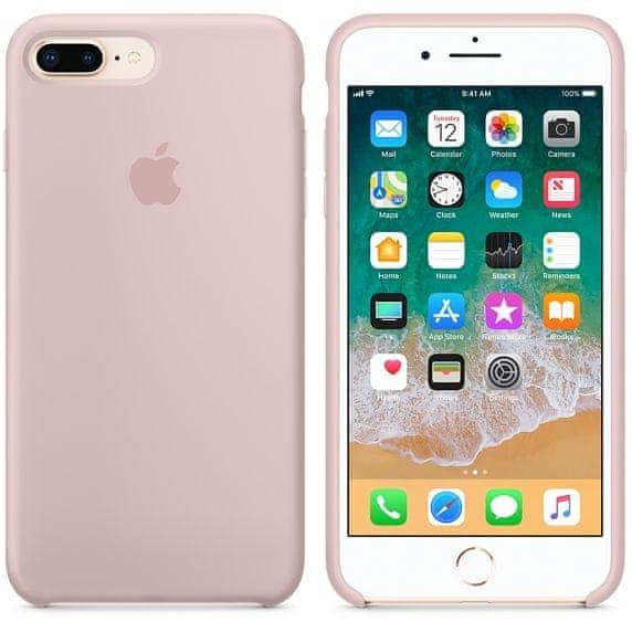 Apple silikónový obal pre iPhone 7 Plus / 8 Plus – Ružový 3