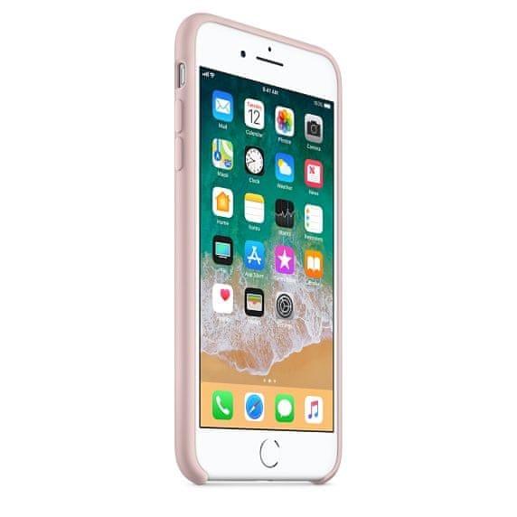 Apple silikónový obal pre iPhone 7 Plus / 8 Plus – Ružový 2