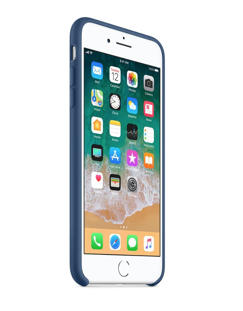 Apple silikónový obal pre iPhone 7 Plus / 8 Plus – modrý 2
