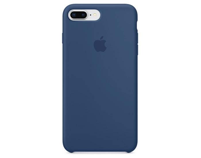 Apple silikónový obal pre iPhone 7 Plus / 8 Plus – modrý 1