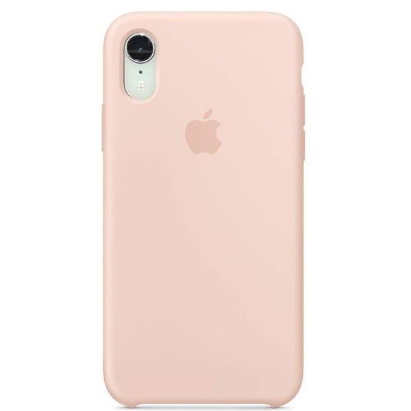 Apple silikónový obal pre iPhone XR – Ružový 1