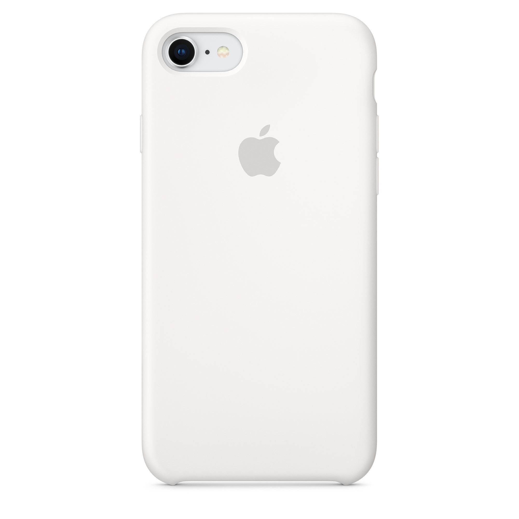Apple silikónový obal pre iPhone SE 2020 – biely 1