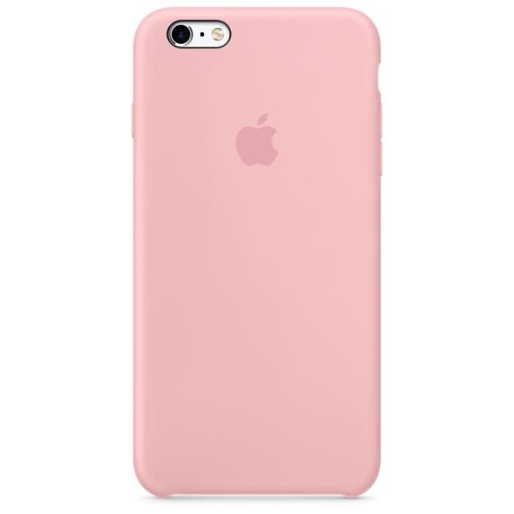Apple silikónový obal pre iPhone 6 / 6S – Ružový 1