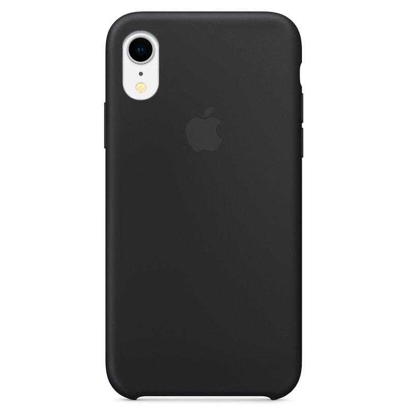 Apple silikónový obal pre iPhone XR - čierny 1