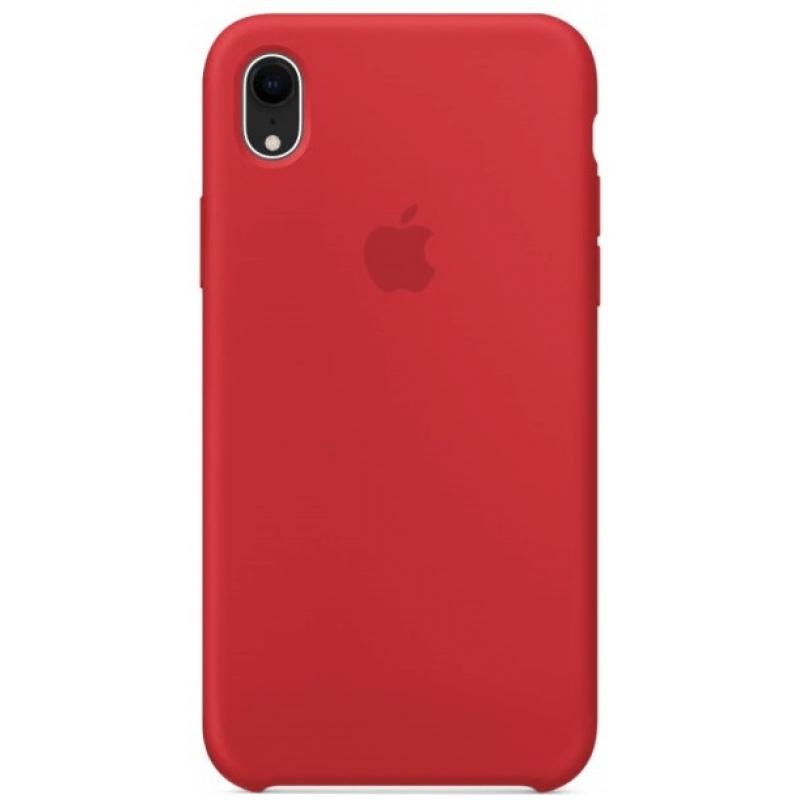 Apple silikónový obal pre iPhone XR - červený 1