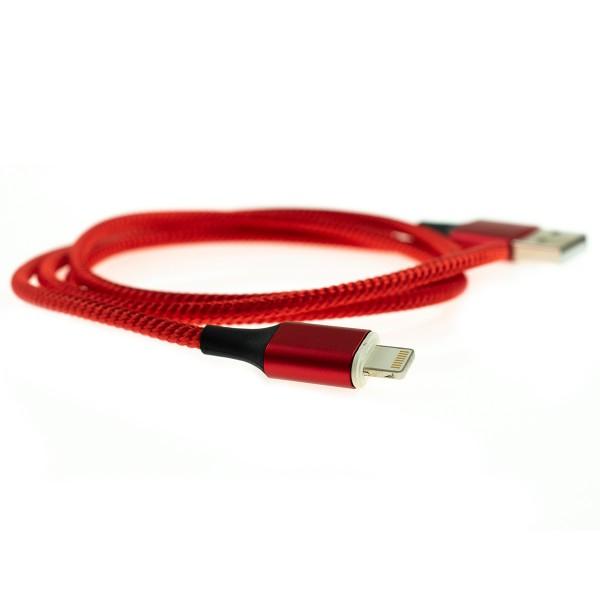 Apple Lightning magnetický kábel - 1m, červený 2