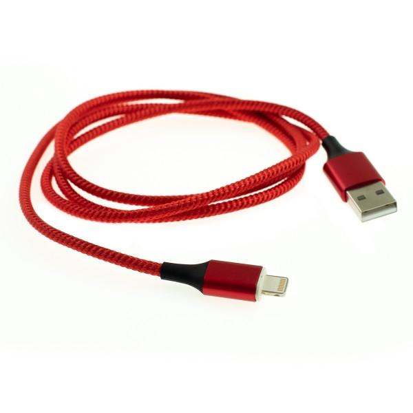 Apple Lightning magnetický kábel - 1m, červený 4