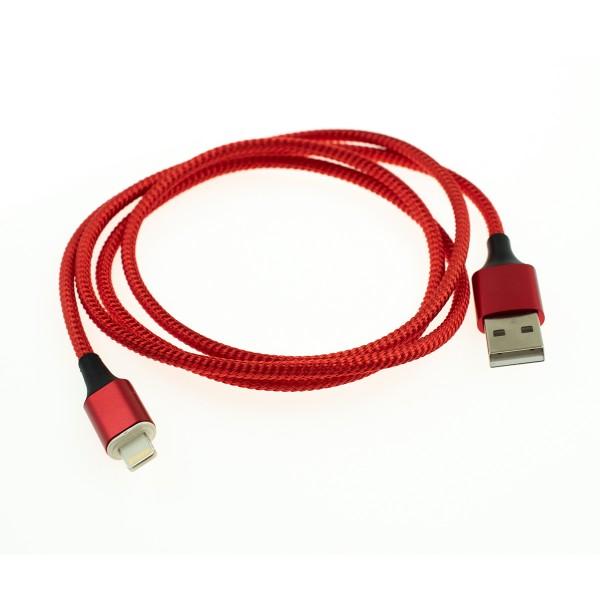 Apple Lightning magnetický kábel - 1m, červený 3