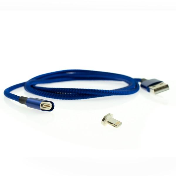 Apple Lightning magnetický kábel - 1m, modrý 1