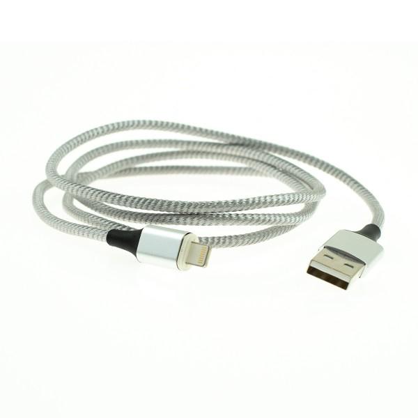 Apple Lightning magnetický kábel - 1m, strieborný 2