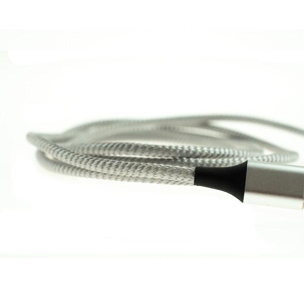 Apple Lightning magnetický kábel - 1m, strieborný 4