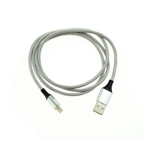 Apple Lightning magnetický kábel - 1m, strieborný 3