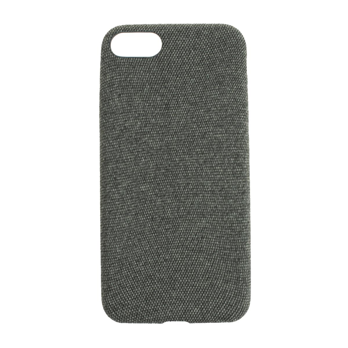 Látkový ochranný obal (tmavosivý) - iPhone 7 / 8 1