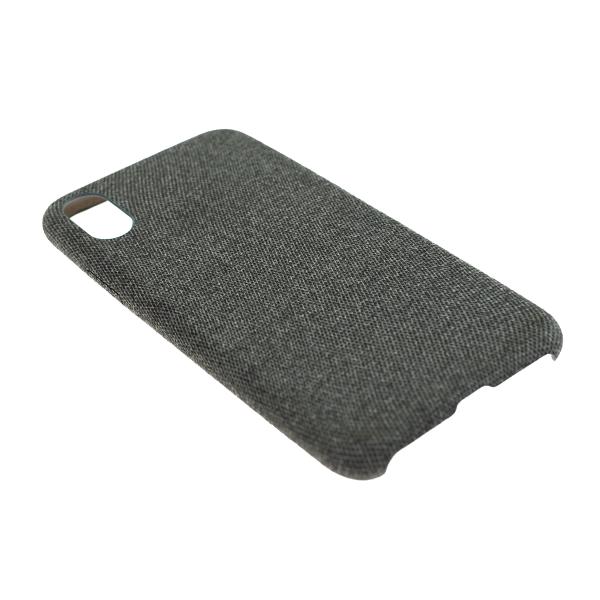 Látkový ochranný obal (tmavosivý) - iPhone XS 2