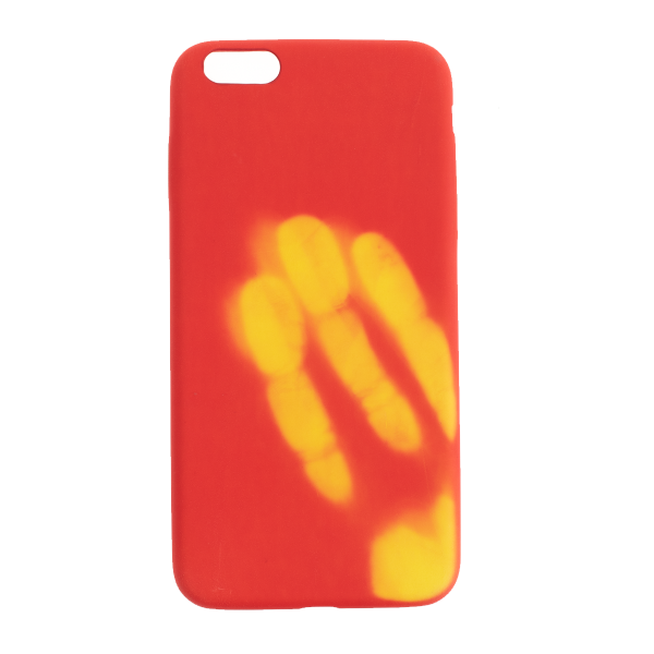 Ochranný Termo obal (červený) - iPhone 6 Plus / 6S Plus 1
