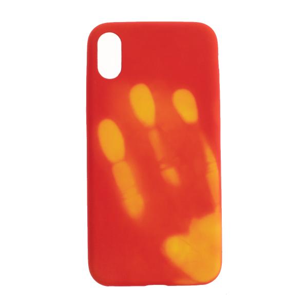 Ochranný Termo obal (červený) - iPhone X 1