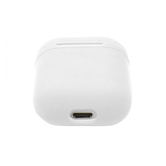 Silikónový obal pre Apple Airpods - biely 3