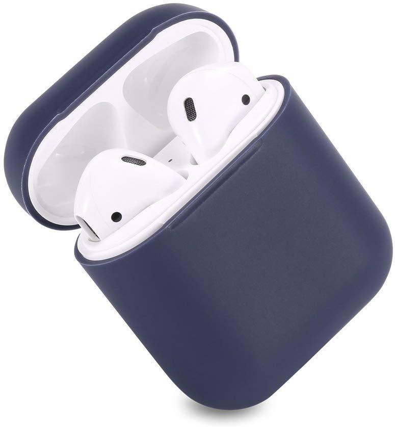 Silikónový obal pre Apple Airpods - tmavomodrý 2