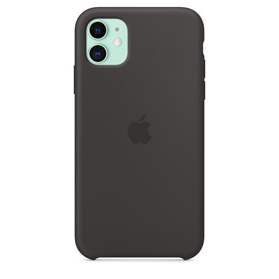 Apple silikónový obal pre iPhone 11 - čierny 3