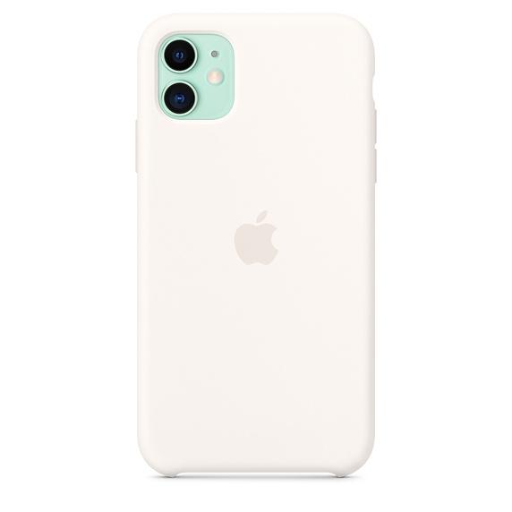 Apple silikónový obal pre iPhone 11 – biely 4
