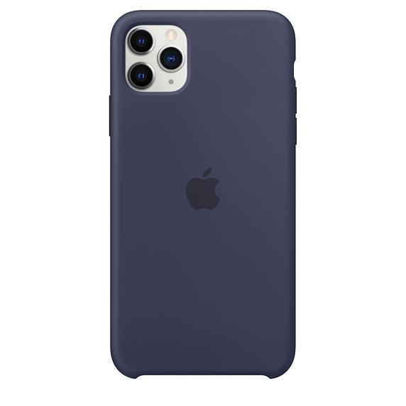Apple silikónový obal pre iPhone 11 Pro – modrý 1