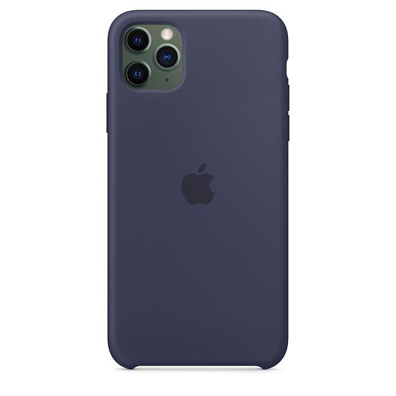 Apple silikónový obal pre iPhone 11 – modrý 3