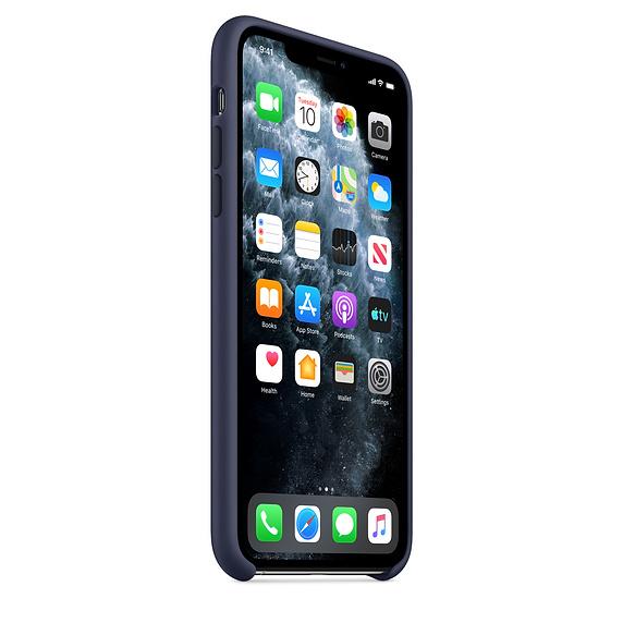 Apple silikónový obal pre iPhone 11 – modrý 2