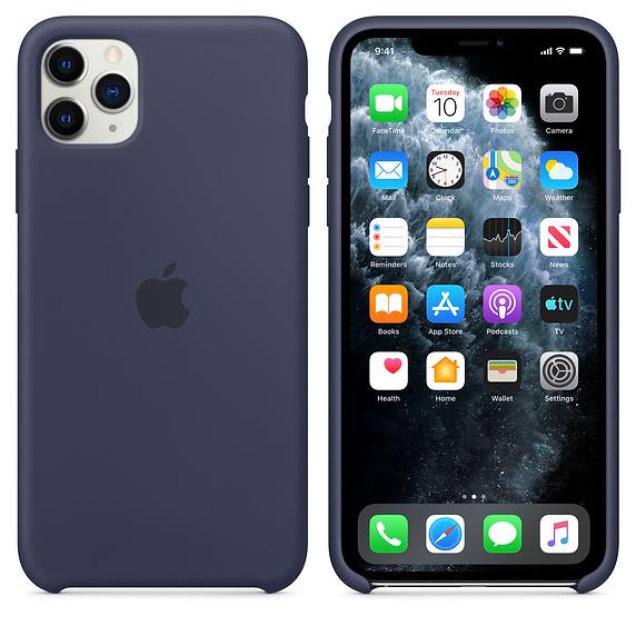 Apple silikónový obal pre iPhone 11 – modrý 4