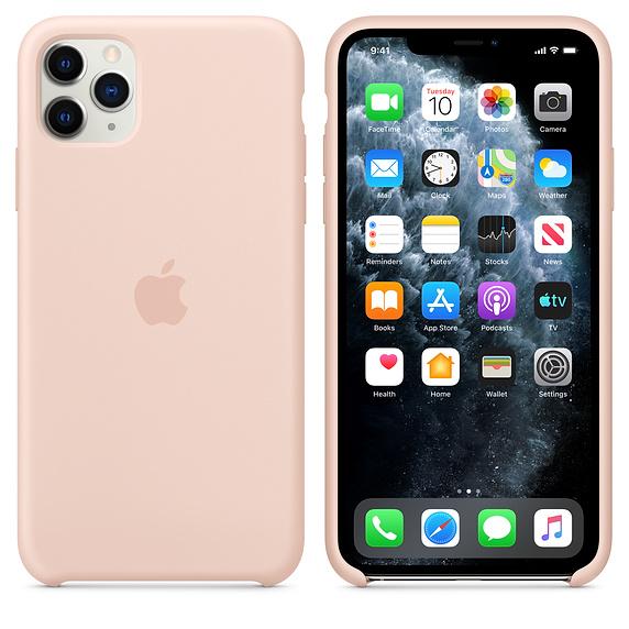 Apple silikónový obal pre iPhone 11 Pro Max – Ružový 4