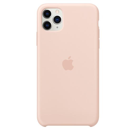 Apple silikónový obal pre iPhone 11 Pro Max – Ružový 1