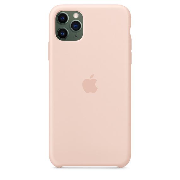 Apple silikónový obal pre iPhone 11 Pro Max – Ružový 3